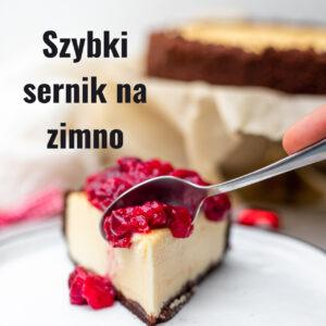 Read more about the article Czekoladowy sernik na zimno