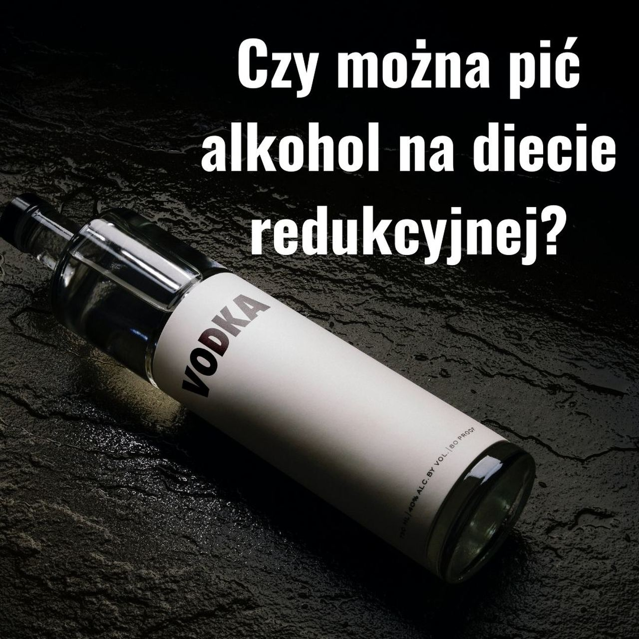 Czy można pić alkohol na diecie redukcyjnej?