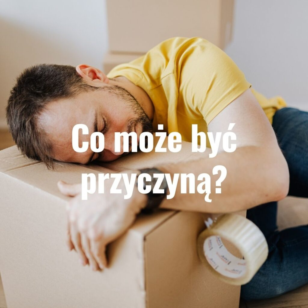 powody zmęczenia