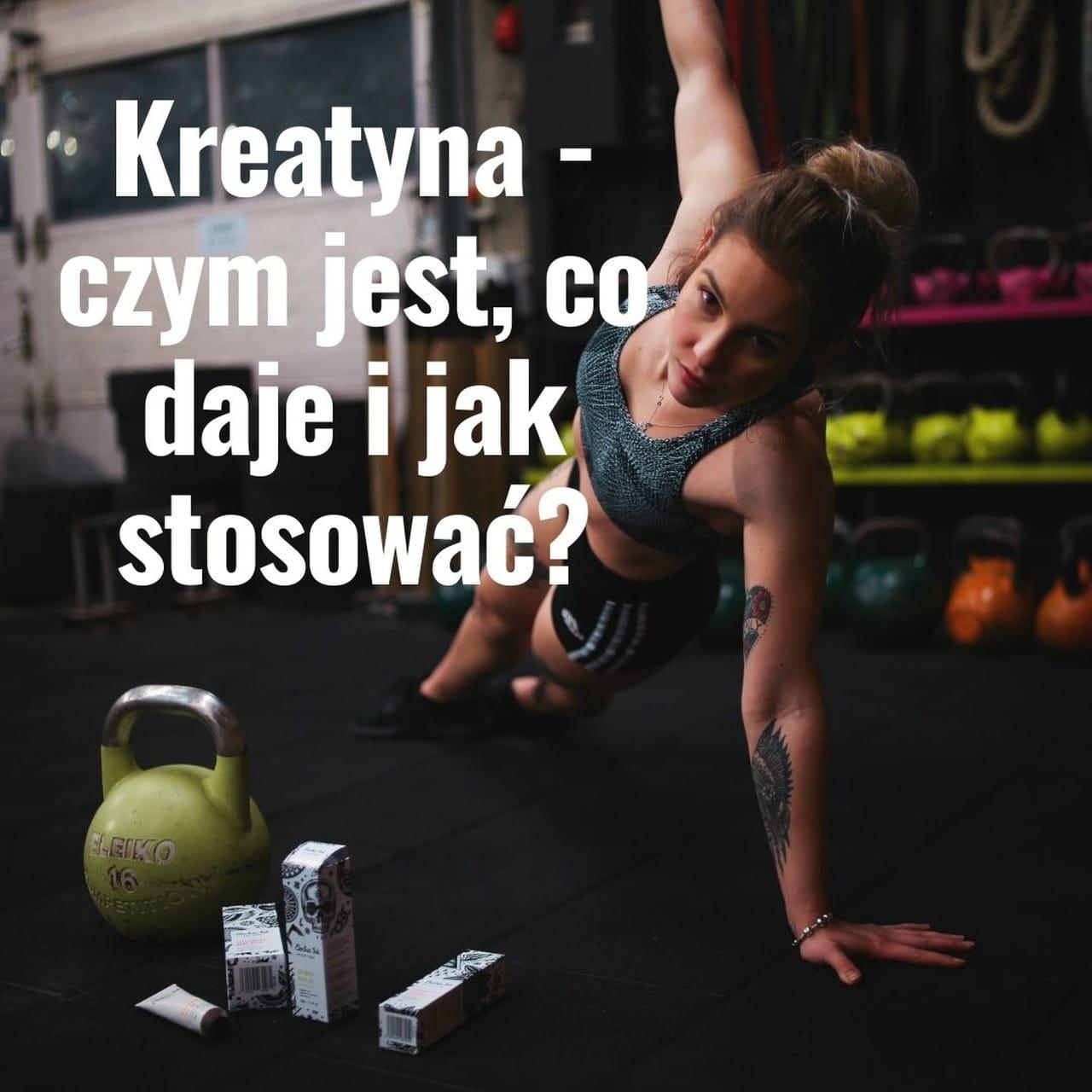 Read more about the article Kreatyna – czym jest, co daje i jak stosować?