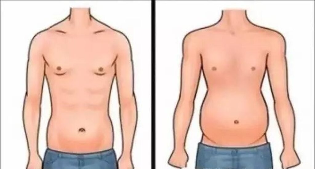 sylwetka skinny fat